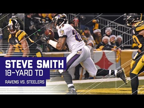 Orr INT Sets Up Steve Smith 18-yard TD Catch! | Ravens vs. Steelers | NFL Wk 16 Highlights
