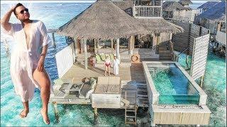 Mein ÜBERWASSER PALAST auf den Malediven