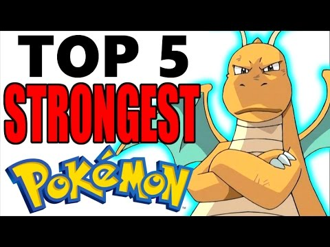 Thumbnail: Top 5 Strongest Pokemon of All Time (No Legendary Pokemon or Mega Evolutions)