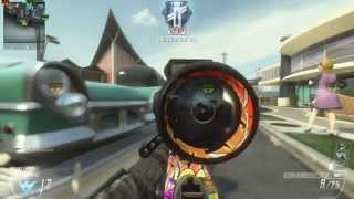 Domination 81-2 Gameplay - Ballista Nuclear + 3 Swarms (Black Ops 2 Gameplay)