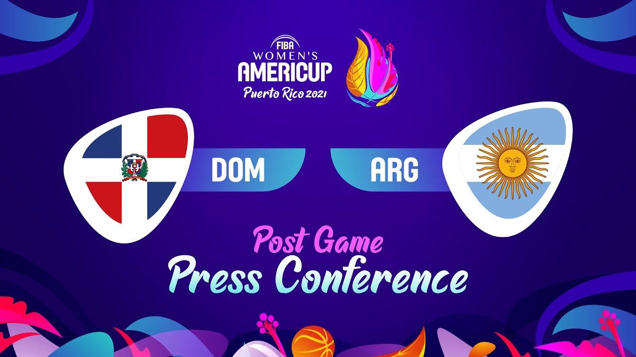 Dominican Republic v Argentina - Press Conference | FIBA Women's AmeriCup 2021