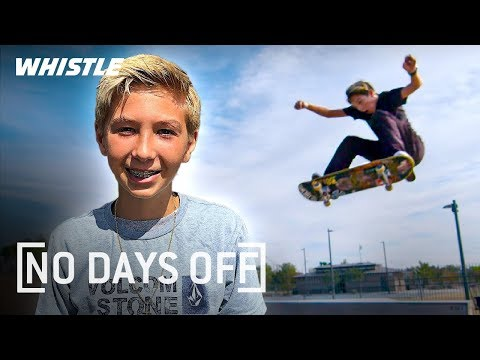 14-Year-Old INSANE Skateboard Prodigy | Lazer Crawford