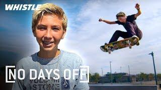 14-Year-Old INSANE Skateboard Prodigy | Lazer Crawford