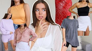 shopping out of my comfort zone.... | TRY-ON CLOTHING HAUL! | NastyGal