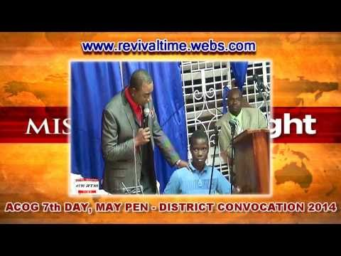 ACOG 7th Day May Pen District Convention 2014