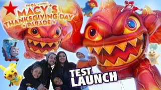 Skylanders Balloon @ 2014 Macys Thanksgiving Day Parade Test Launch (eruptor Fest) 88th Annual Float