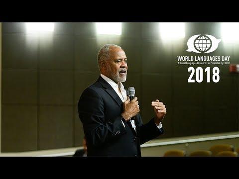 CIA/OSE Presentation At World Languages Day 2018