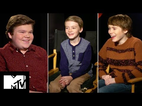 It Cast Play GUESS THE UK SLANG  MTV Movies