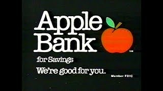 Apple Bank Commercial