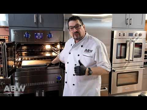Baking the Perfect Cheesecake Part 1   BlueStar Wall Oven   2 Minute Kitchen ABW Appliances