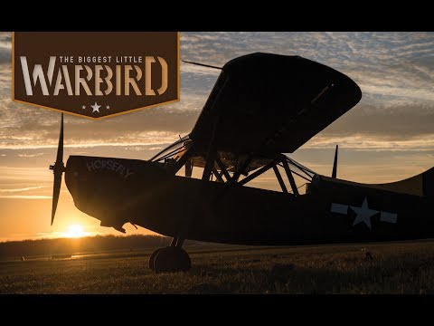 The Biggest Little Warbird: One Man's Dream Created by a Trio of Dreamers