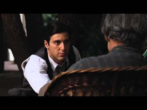 Marlon Brando & Al Pacino Best scene from Godfather 1972 1080p