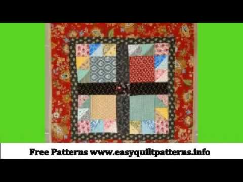 Basic Quilt Patterns Free Bear Paw Quilt Pattern Variations Youtube