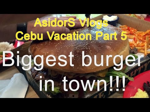 Cebu Vacation Part 5 | SM seaside | Casa Verde | Biggest Burger | ASIDORS VLOGS