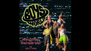 BOYS WORLD - Wingman (Official Dance Rehearsal) by choreographers Dez Soliven x Gab Robert