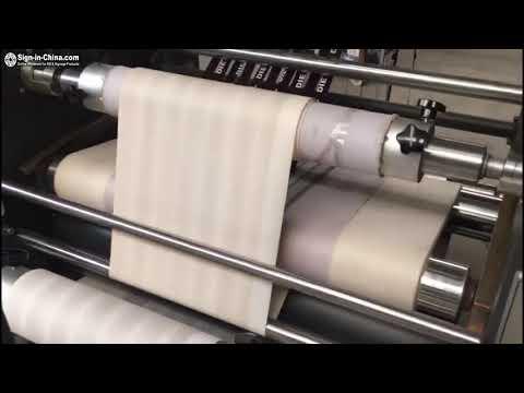 Mini Roller Lanyard Ribbon Heat Printing Machine