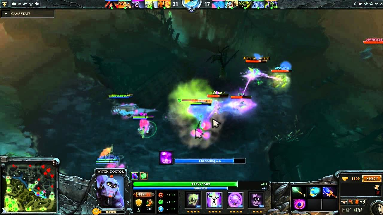 dota 2 witch doctor look at it go youtube