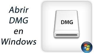 Abrir archivo .DMG en Windows