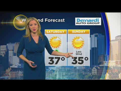WBZ Evening Forecast For March 15, 2018