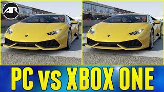 Forza 6 : PC vs XBOX ONE!!!