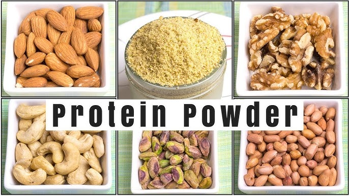 Protein Powder How To Make Protein Powder At Home Youtube