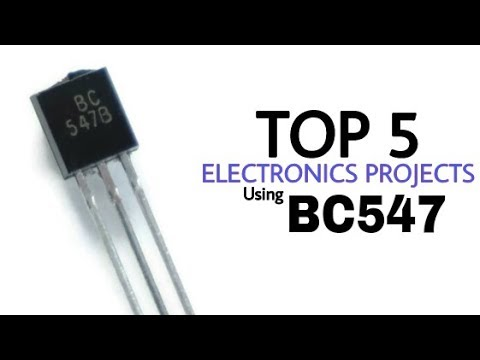 TOP 5 Electronics Projects using BC547 transistor | BC547 circuit projects
