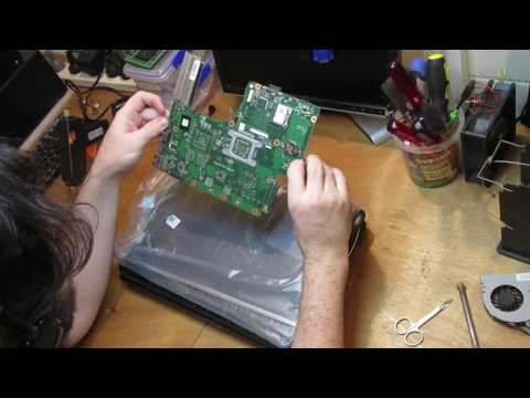 What I fix daily - Building a Toshiba C665 from new and broken parts