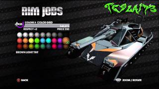 Saints Row 3 - How to Customize Non - Customizable Vehicles!!!