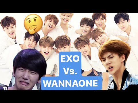 Which WANNA ONE Member Resembles the EXO Member?
