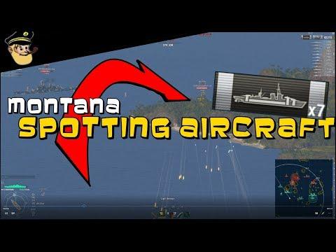 MONTANA spotting aircraft? || World of Warships
