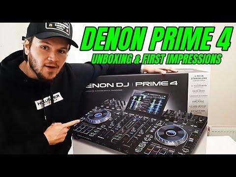Denon DJ Prime 4 - Unboxing & First Impressions 2020