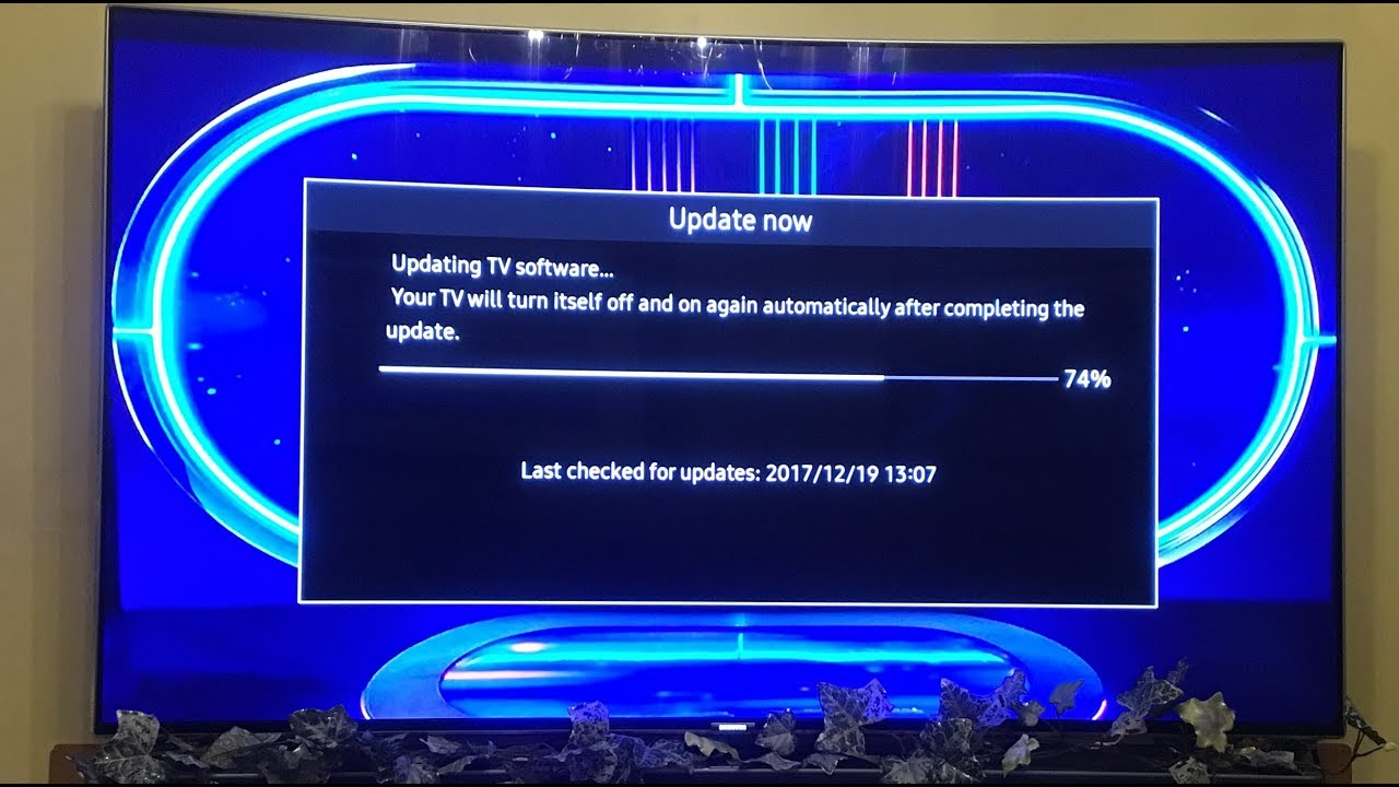 How to update Samsung TVs with the latest firmware which now supports HLG