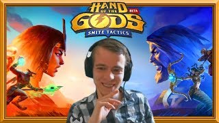 Taking A Look At Hand Of The Gods: SMITE Tactics (Sponsored)