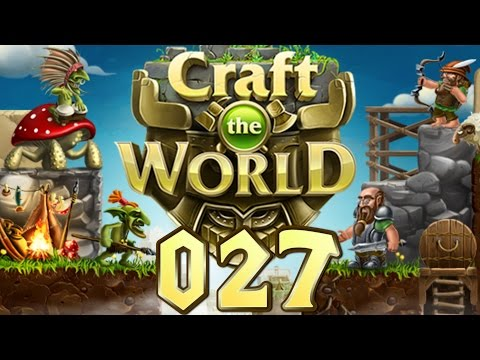 Let's Play Craft The World #027 Minibahn (Gameplay German Deutsch) |