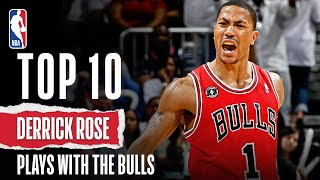 Derrick Rose s Top 10 Plays With The Bulls