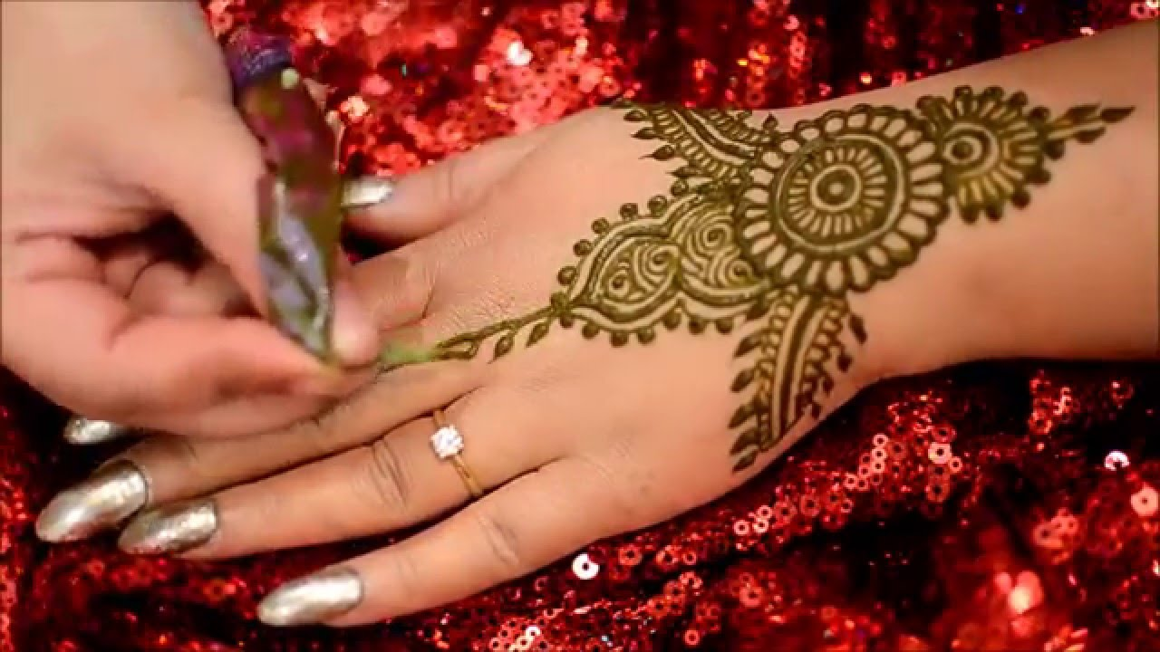 How to apply henna mehndi tutorial lal hatheli youtube mehndi tutorial lal hatheli youtube baditri Images
