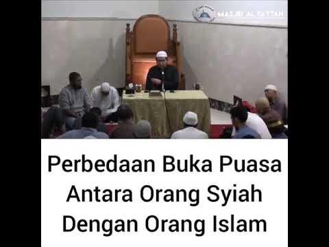 Ustadz DR Firanda Andirja, MA. - Perbedaan Buka Puasa Antara Orang Syiah dengan Orang Islam