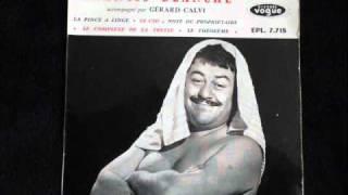 Francis Blanche-La Pince à Linge-1959