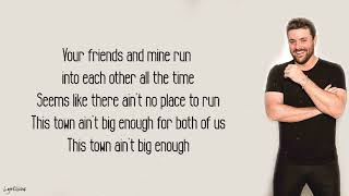Chris Young, Lauren Alaina - Town Ain't Big Enough (Lyrics) 🎵