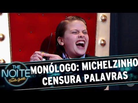 """The Noite (13/09/16) - Monólogo: Michelzinho ORDENA Danilo a não falar """"QUE"""""""