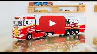 Scania S Highline CS20H Showtruck Eckhardt Früchte Express 01-2368 WSI Models TRUCKMO