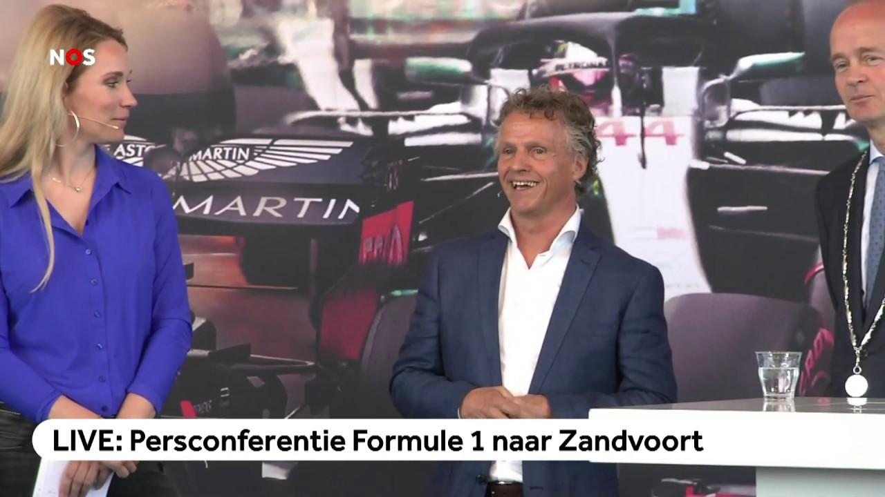 LIVE: Persconferentie Formule 1 Naar Zandvoort