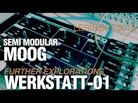 MOOG WERKSTATT- 01 // FURTHER MODULAR EXPLORATIONS