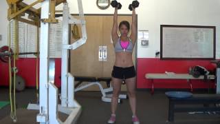 How to do an overhead hold exercise! (www.womensfitway.com)