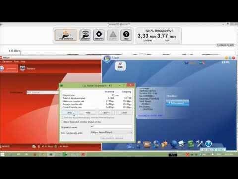 Connectfy Dispatch Demo, Speed Test