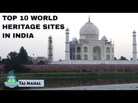 TOP 10 WORLD HERITAGE SITES IN INDIA | भारत में 10 विश्व धरोहर स्थल