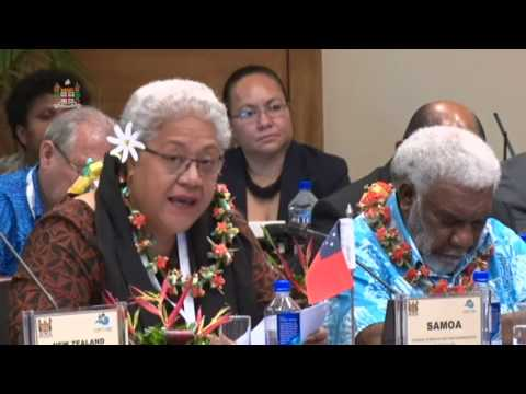 CAPP 2017: Leaders' response by the Deputy Prime Minister of Samoa