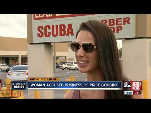 Price gouging concerns hit Tampa ahead of Hurricane Dorian