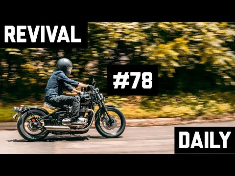 Triumph Bonneville Bobber custom and Bell Eliminator Review // Revival Daily 78