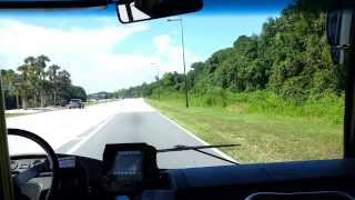 Disney World Bus Ride - All-Star Sports to Magic Kingdom Aug 2013
